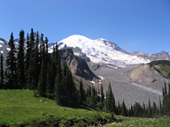 Mount Rainier Summerland photo © by Alan Gibbs